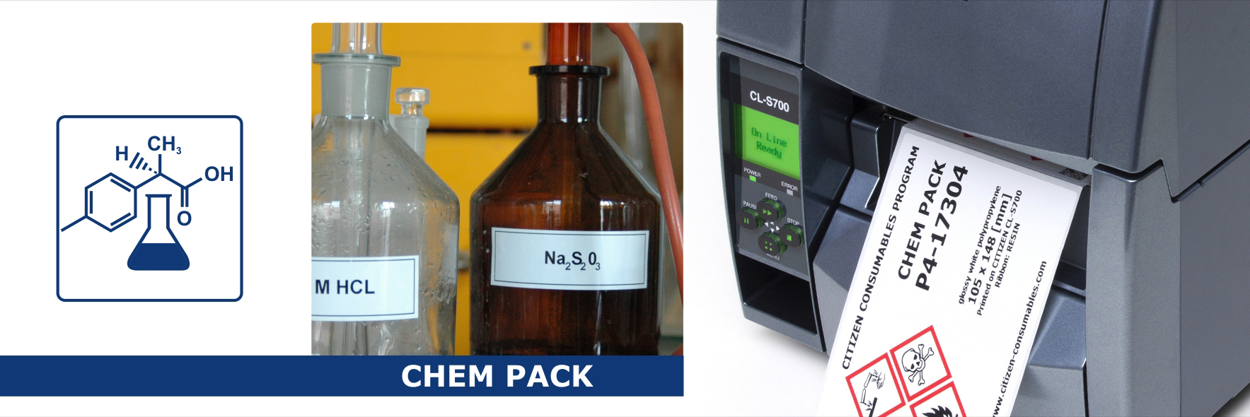 Chem Pack – dedykowane rozwiązanie dla oznaczeń w branży chemicznej