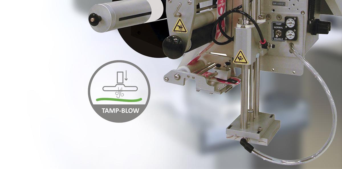 Metoda aplikacji etykiet typu Tamp-Blow