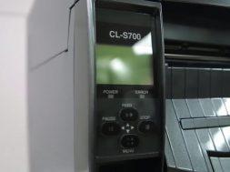 citizen cl s700r, cl s703r nawijanie podkładu bez etykiet