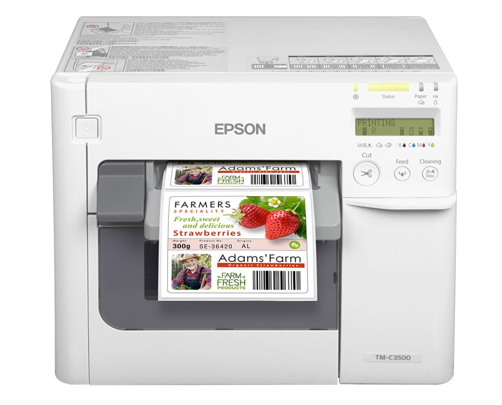 drukarka kolorowa etykiet Epson Color Works C3500