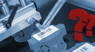 automatyczna aplikacja etykiet przy dużych prędkościach