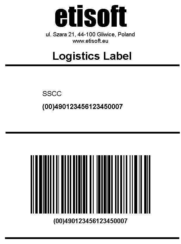 etykiety logistyczna GS1