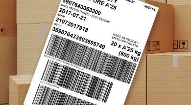 etykieta logistyczna