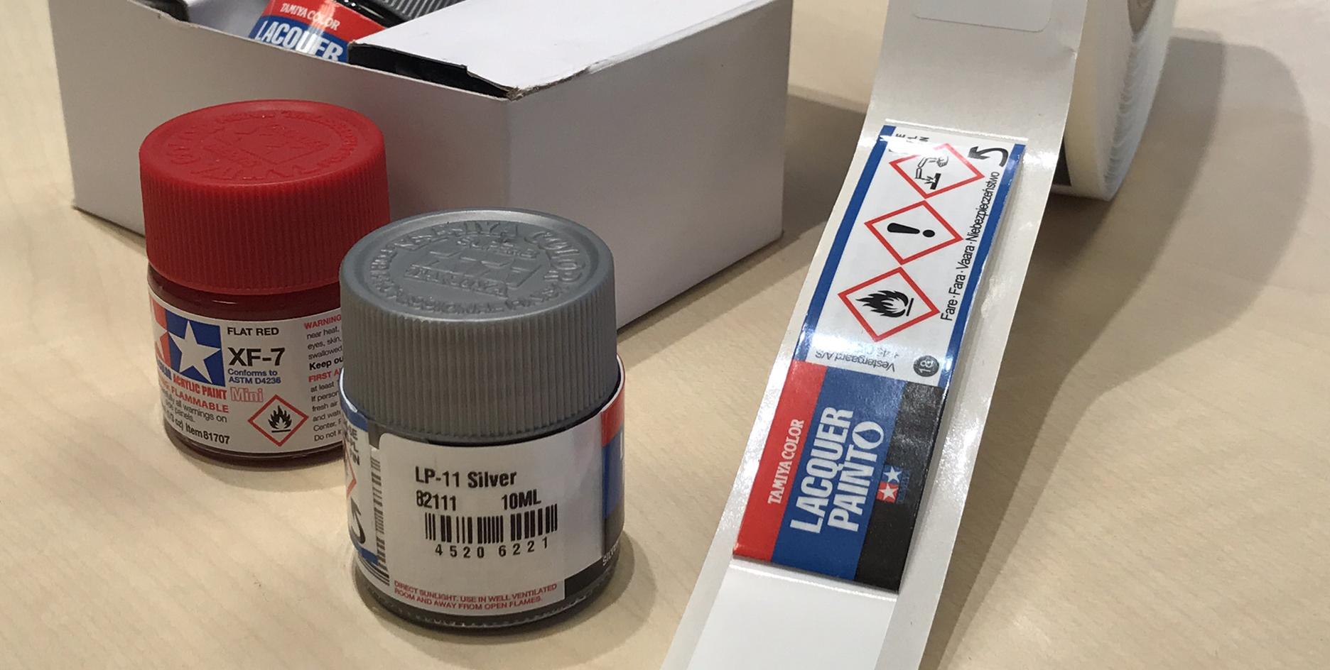 etykiety wielowarstwowe