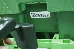 Jaką etykietę wybrać do oznaczenia skrzynek  wielokrotnego użytku?