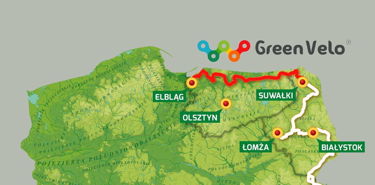 Olek, nasz człowiek z pasją ma cel: w ciągu 5 lat przejechać całą trasę Green Velo
