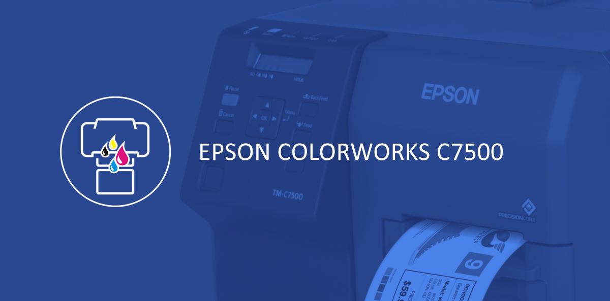 Drukarka kolorowa Epson Colorworks C7500/C7500G[infografika]