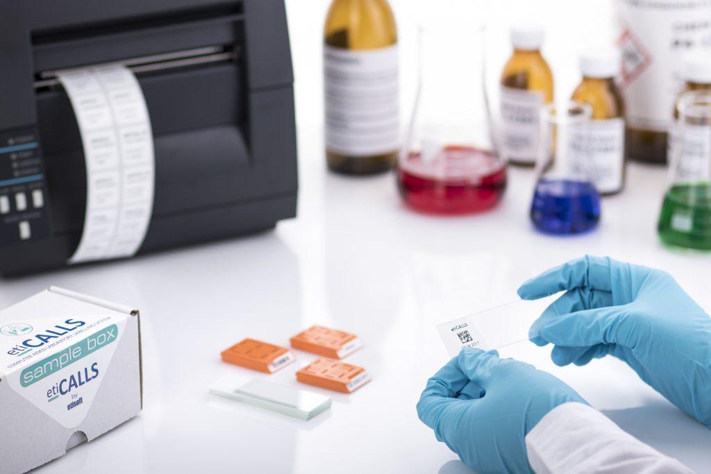 etykiety dla laboratoriów