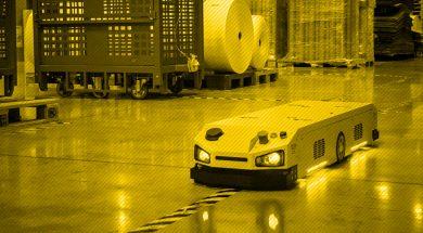 roboty mobilne AG IntraBot Pull 500
