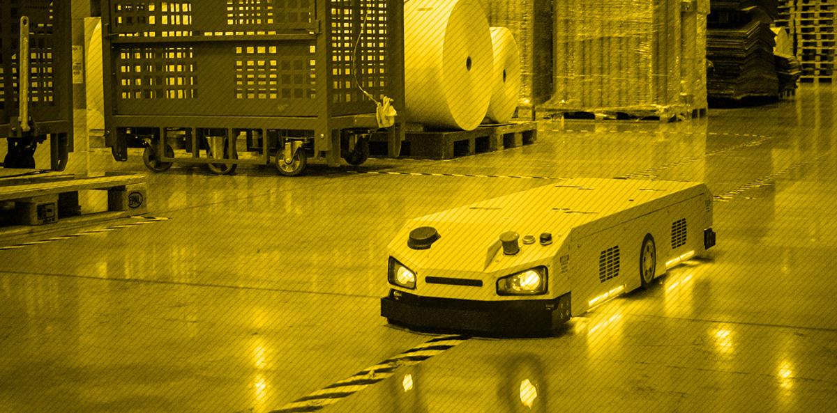 Efektywna intralogistyka z robotami AGV (Automated Guided Vehicle)