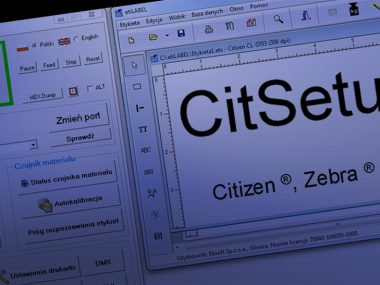 CitSet2 program do druku etykiet