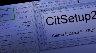 CitSet2 program do druku etykiet