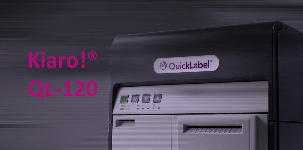 KIARO! QL-120-kolorowa drukarka do etykiet
