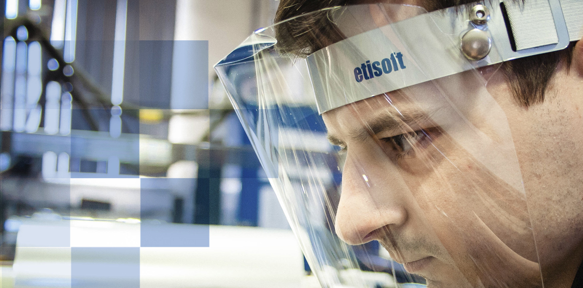 Przyłbica ochronna – najnowszy produkt w ofercie Etisoft