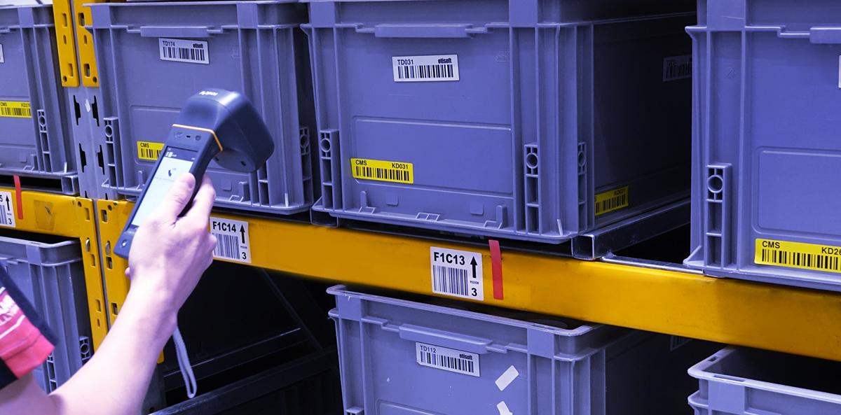 Etykiety RFID na pojemniki wielokrotnego użytku