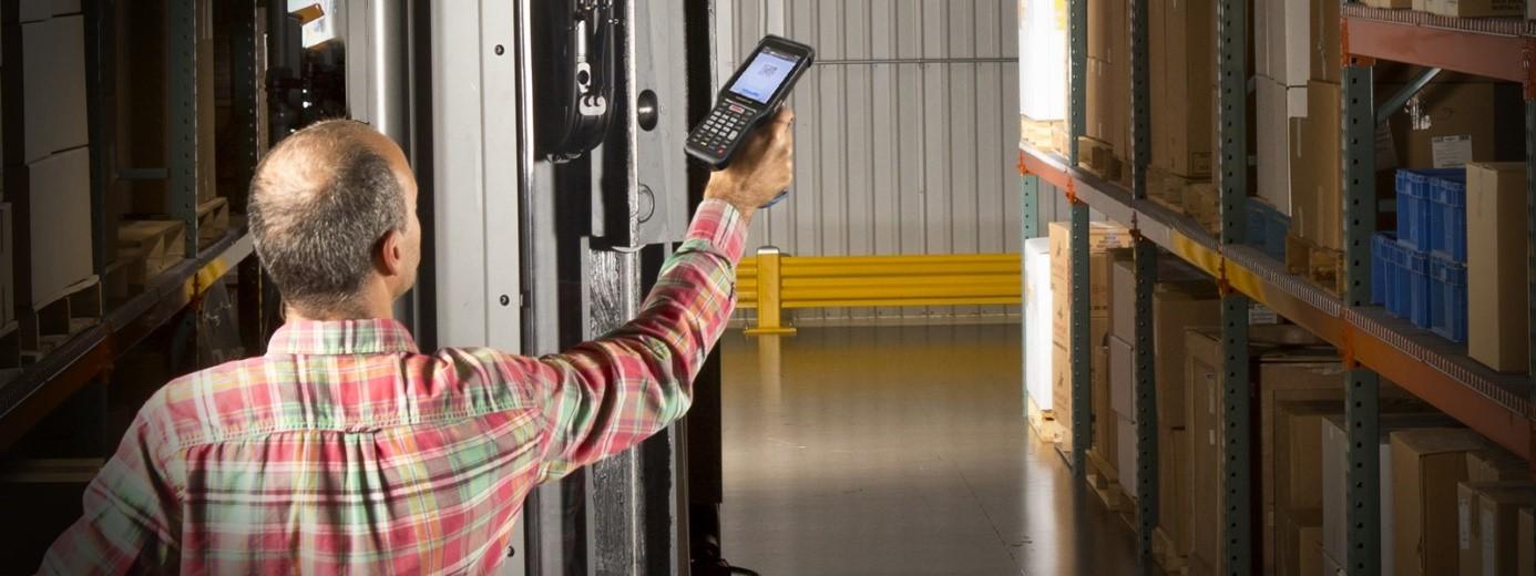 terminal danych z ekranem dotykowym
