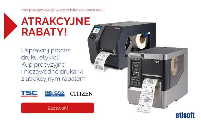 drukarki do etykiet z rabatem